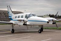 D-IHJL @ ZQW - Piper PA-31T Cheyenne - by Volker Hilpert