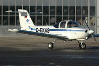 D-EXAS @ ZQW - Piper PA-38 Tomahawk - by Volker Hilpert