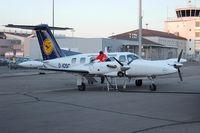 D-IOSC @ SCN - Piper PA-42 Cheyenne III - by Volker Hilpert
