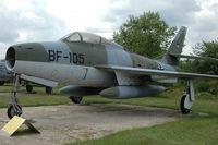 BF-105 - Republic F-84F Thunderstreak - by Volker Hilpert