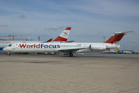 TC-AKL @ VIE - World Focus MD80
