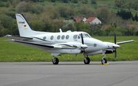 D-ITOP @ SCN - Beech King Air 90 - by Volker Hilpert