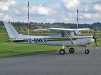 G-BNKS @ EGBO - Cessna 152 - by Robert Beaver