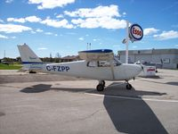 C-FZPP @ CYGD - Cessna 175 - by Mark Pasqualino