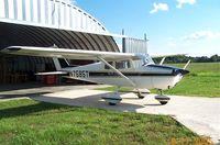 N7585T @ KPSN - N7585T at Palestine Municipal Airport  -- Palestine, Texas - by Jeff