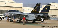 162916 @ NTU - Last of the many, F-14B hull on static at Oceana - by Paul Perry