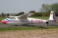 D-7155 - Schleicher Ka-6 - by Volker Hilpert