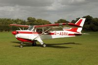 G-ASRK @ POPHAM - AIREDALE - by martin rendall
