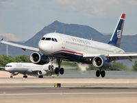 N605AW @ KLAS - US Airways / 1997 Airbus Industrie A320-232 - by SkyNevada - Brad Campbell