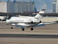 N221HB @ KLAS - N221HB - San Diego, California / British Aerospace BAE 125 SERIES 800A