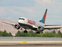 N156AW @ KLAS - America West / 1987 Boeing 737-3G7
