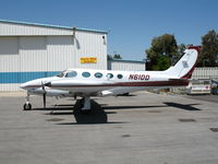 N61DD @ PRB - Eberle Winery 1980 Cessna 340A with Eberle Wild Pig TL @ Paso Robles Municipal, CA