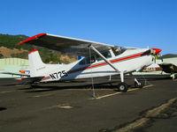 N725 @ DVO - 1964 Cessna 185 (ex Dept. of Interior) @ Gnoss Field (Novato), CA