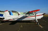 N725 @ DVO - 1964 Cessna 185 (ex Dept. of Interior) @ Gnoss Field (Novato), CA