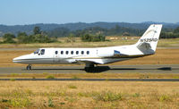 N525RD @ STS - Phillips Plastic 1991 Cessna 560  taxying @ Sonoma County Airport (Santa Rosa), CA - by Steve Nation