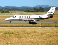 N9GY @ STS - Flight Investment 1988 Cessna 550 taxying @ Sonoma County Airport (Santa Rosa), CA