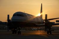 G-FIJR @ VIE - Atlantic Airlines Lockheed Electra