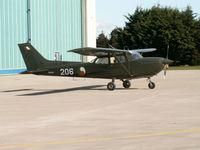 206 - Cessna FR.172H Irish Air Corps at Baldonnel/Casement - by Ian Woodcock