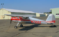 N72122 @ O52 - 1946 Cessna 140 @ Sutter County Airport (Yuba City), CA