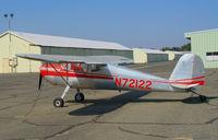 N72122 @ O52 - 1946 Cessna 140 @ Sutter County Airport (Yuba City), CA