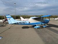 N46307 @ AJO - 1968 Cessna 172K @ Corona Municipal Airport, CA - by Steve Nation