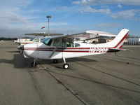 N6700X @ AJO - Cessna 210A @ Corona Municipal Airport, CA from Big Bear, CA