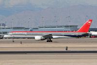 N582NW @ LAS - Northwest Airlines N582NW (FLT NWA776) departing RWY 25R enroute to Minneapolis St Paul Int'l (KMSP). - by Dean Heald