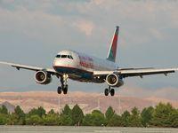 N640AW @ KLAS - America West / 1994 Airbus Industrie A320-232