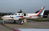 D-INGE @ ZQW - Cessna 340A - by Volker Hilpert