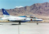 46-5729 @ NELLIS AFB - Kawasaki T-4/Blue Impulse,JASDF - by Ian Woodcock