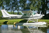 N1431U - Lake Winnwbago splash-in. - by Sergey Riabsev