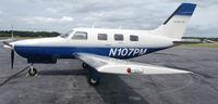 N107PM @ DAN - 1986 Piper PA-46-310P in Danville Va. - by Richard T Davis