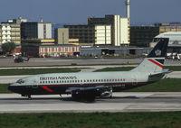 G-BKYE @ LIS - British Airways Boeing 737-200