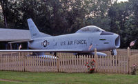 53-1337 - This 1953 F-86 Sabre stands guard at VFW Post 34, Shortsville, NY. - by Daniel L. Berek