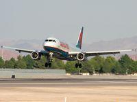 N673AW @ KLAS - America West Airlines / Airbus A320-232