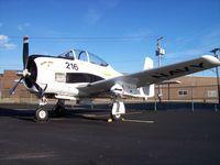 N285DB @ KRFD - North American T-28B - by Mark Pasqualino