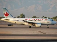 C-GKNW @ KLAS - Air Canada / 2002 Airbus A319-112 - by Brad Campbell