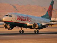 N306AW @ KLAS - America West / 1990 Boeing 737-3G7 / ...and my 1700th upload!