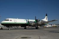 G-LOFE @ VIE - Air Atlantic Lockheed Electra