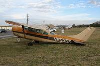 N9639X @ AJO - 1962 Cessna 210B looking a little stressed @ Corona Municipal Airport, CA