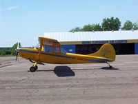 C-FTGP @ CCQ3 - Waiting for glider towing duty in Debert NS Canada - by Serge Duguay