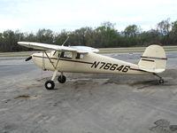 N76646 @ AJO - 1946 Cessna 120 @ Corona Municipal Airport, CA