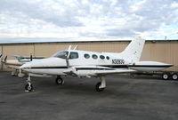N3283Q @ AJO - Digital Image LLC 1967 Cessna 402 @ Corona Municipal Airport, CA