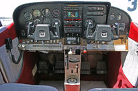 N2914F - 1966 Cessna 182J Skylane Panel - by Unknown