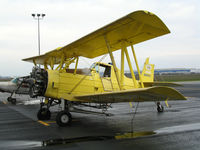 N6602 @ LHM - K & K Aerial Applicators (Yerington, NV) 1970 Grumman G-164A with spreader and no rudder @ Lincoln Municipal Airport, CA