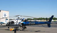 N217HP @ SAC - CHP/California Highway Patrol 2002 Eurocopter AS350B3 in for maintenance @ Sacramento Executive Airport, CA - by Steve Nation