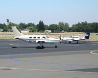 N31BX @ SAC - Malibu Assets (Bend, OR) 1986 Piper PA-46-310P taxying out @ Sacramento Executive Airport, CA