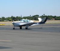 N1077B @ SAC - 1957 Beech H35 @ Sacramento Executive Airport, CA - by Steve Nation