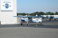 N2168N @ SAC - 1947 cessna 140 @ Sacramento Executive Airport, CA