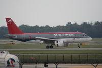 N334NB @ KDTW - Just landed on 21R